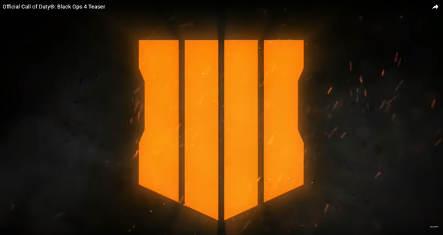 Biểu tượng của Call of Duty: Black Ops 4. Nếu các bạn chưa quên thì có thể nhận ra ngay chiếc logo mới này lấy cảm hứng khá nhiều từ biểu tưởng cũ của phiên bản Black Ops III.
