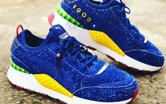 Lộ diện mẫu giày thể thao mới dành cho fan ruột của Sonic - Ảnh 1.