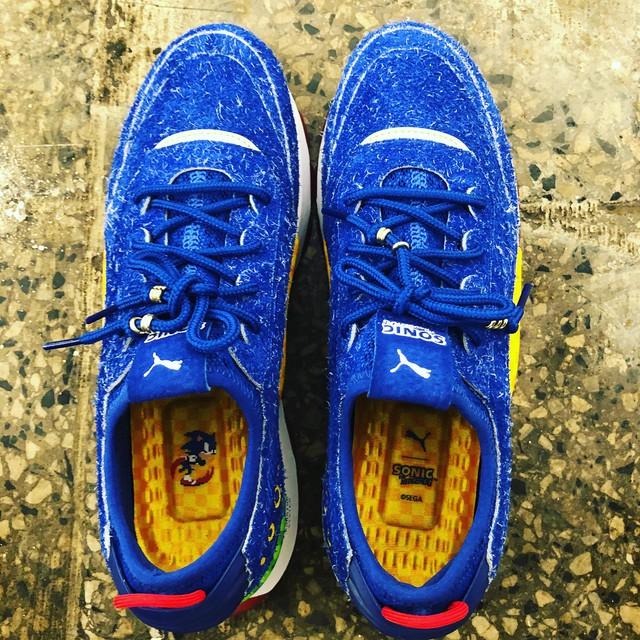 Lộ diện mẫu giày thể thao mới dành cho fan ruột của Sonic - Ảnh 3.