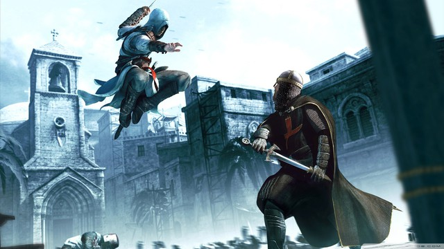 Assassins Creed kể về cuộc chiến giữa hai phe Hashashin và các hiệp sỹ Templar để tranh giành Apple of Eden.