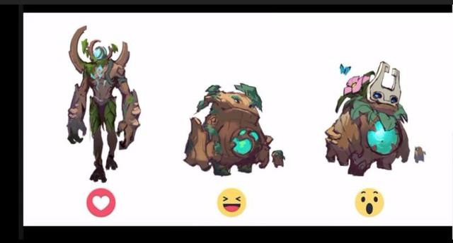 3 tạo hình nguyên bản của YBneth đã được hé lộ. Nhưng chưa tạo hình nào được coi là thiết kế chính thức.