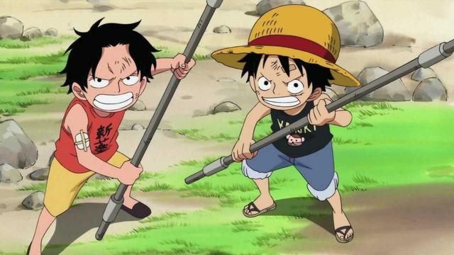 Luffy bị ảnh hưởng lớn bởi người anh Ace