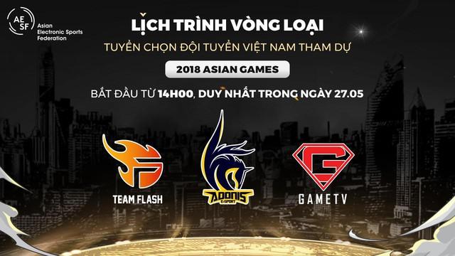 Saigon Phantom không tham dự vòng loại Việt Nam, từ đó tìm ra đại diện dự vòng loại Đông Nam Á giải Asian Games 2018.