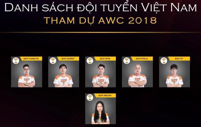 Thành viên thứ 6 của tuyển Liên Quân Mobile quốc gia Việt Nam là nữ game thủ Meow.