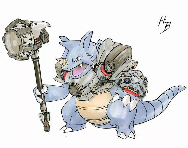 Chiêm ngưỡng bộ tranh khi các Pokemon vào vai các tướng Overwatch - Ảnh 13.