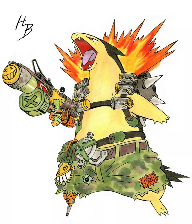 Chiêm ngưỡng bộ tranh khi các Pokemon vào vai các tướng Overwatch - Ảnh 15.