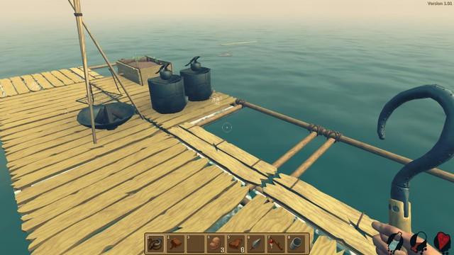 Đây là Game thử thách chính bản thân chúng ta giữa lòng đại dương khi chỉ với 1 cái bè nhỏ và 1 cái móc câu
