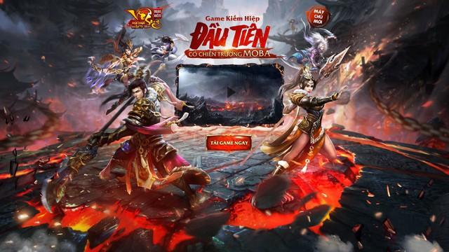 10h sáng nay (25/05), Ngạo Kiếm Vô Song ra mắt MCM ÂU Dương Phong với chiến trường MOBA máu lửa nhất làng game võ hiệp.
