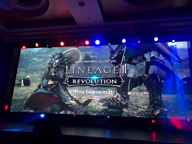 Họp báo ra mắt Lineage 2: Revolution tại Việt Nam