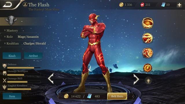 The Flash cũng có giá vàng giảm xuống còn 14622 dù chưa được cập nhật chính thức ở bản Indonesia.