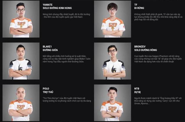 Nhiều khả năng, tuyển Việt Nam dự AWC sẽ là đội hình kết hợp nhân sự của Saigon Phantom và Adonis Esports.