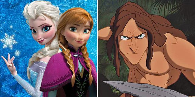 Liệu Tarzan có phải là anh trai của Elsa và Anna