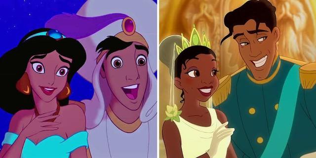 Nhánh phả hệ loằng ngoằng của các nhân vật Disney