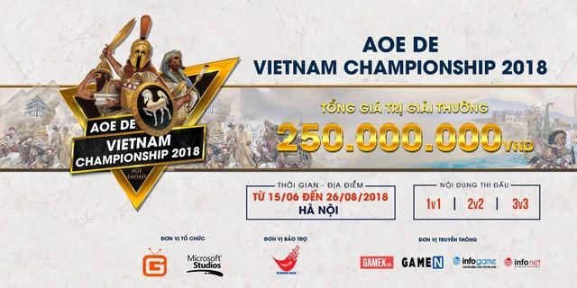 Giải đấu AoE DE Vietnam Championship 2018