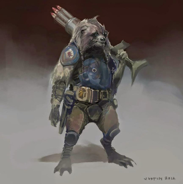 Roket Raccoon