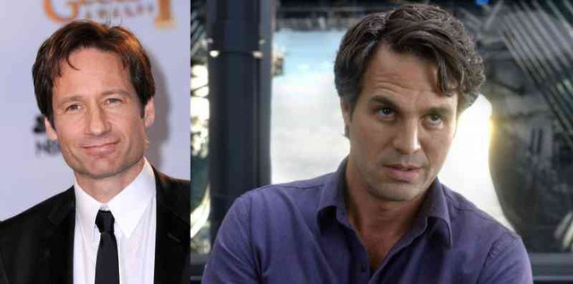 David Duchovny thử vai Bruce Banner
