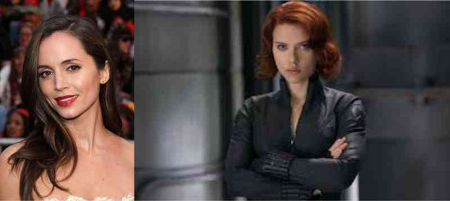 Eliza Dushku thử vai Black Widow