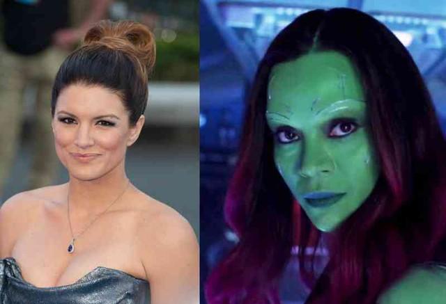 Gina Carano thử vai Gamora