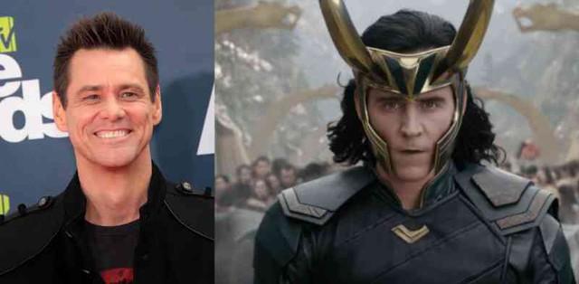 Jim Carrey thử vai Loki