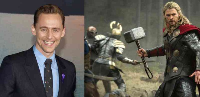 Tom Hiddleston thử vai Thor