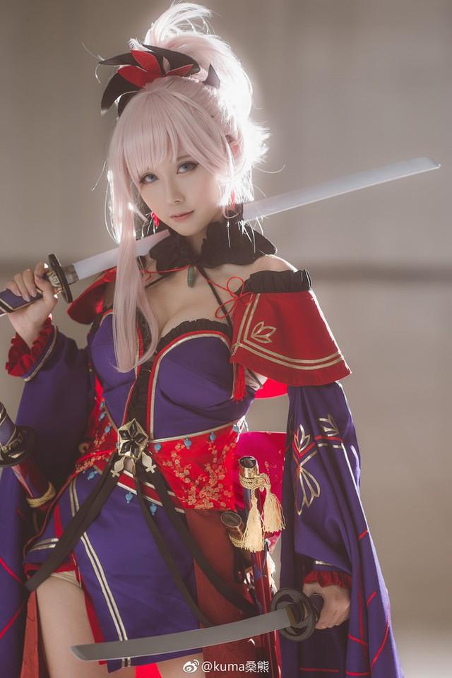 Ngất ngây với cosplay nàng Saber trong game hot Fate/Grand Order - Ảnh 1.