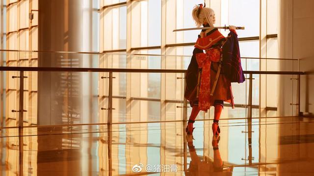 Ngất ngây với cosplay nàng Saber trong game hot Fate/Grand Order - Ảnh 12.