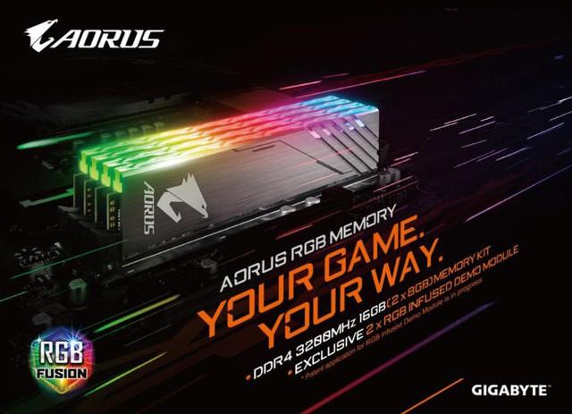 Gigabyte chính thức giới thiệu bộ RAM Aorus RGB đẹp ngất ngây cho game thủ - Ảnh 1.
