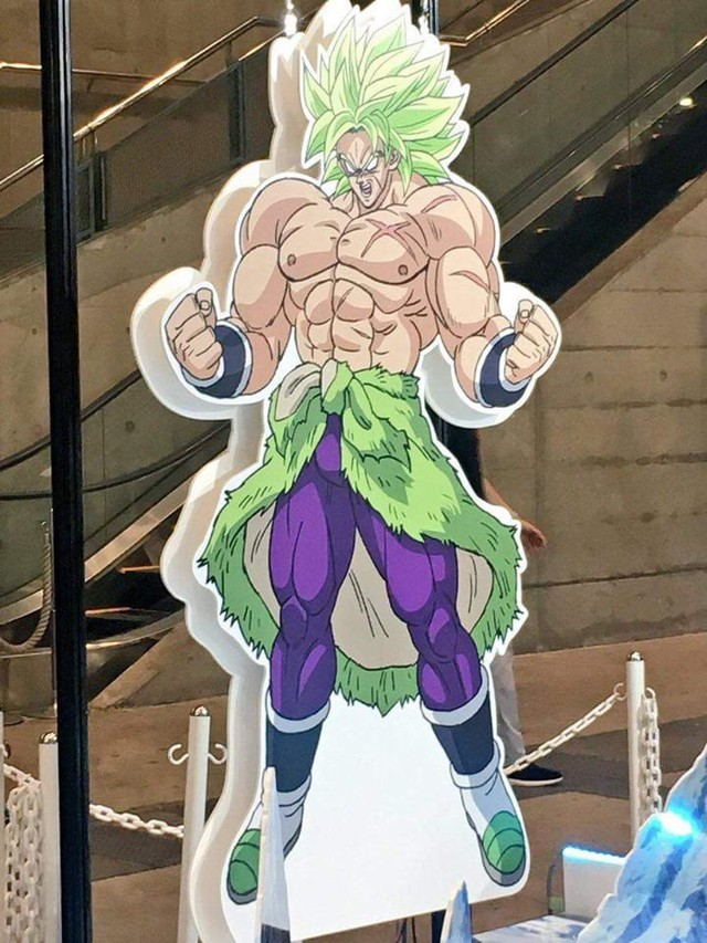 Hé lộ tạo hình của siêu Saiyan huyền thoại Broly trong Dragon Ball Super Movie - Ảnh 4.