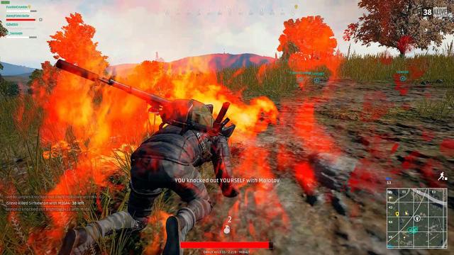 Tìm hiểu về bom lửa trong PUBG - Vũ khí sát thương rộng cực mạnh - Ảnh 1.