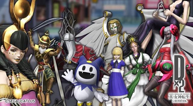 Shin Megami Tensei Liberation Dx2 - Bắt quỷ trong tuyệt phẩm mobile Nhật của SEGA - Ảnh 1.