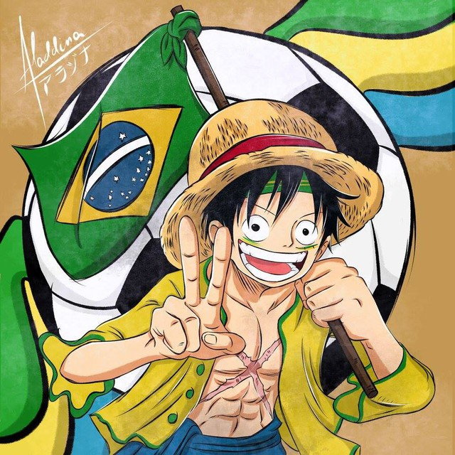 Luffy với quốc tịch Brazil