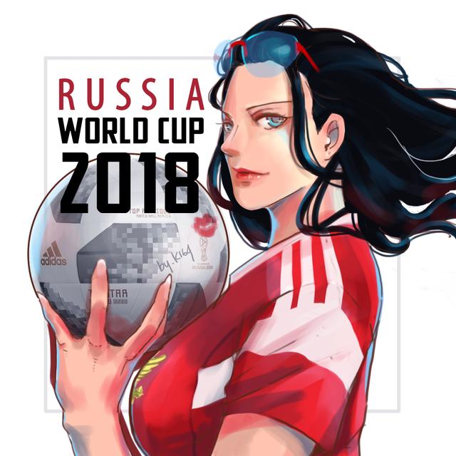Nico Robin với quốc tịch nước Nga