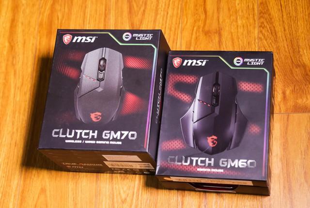 GM60 và GM70 có cách đóng gói rất khác nhau nhưng bên trong thì lại giống hệt nhau.