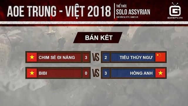Trận chung kết thể thức solo Assyrian sẽ là cuộc chiến nội bộ của AoE Việt Nam.