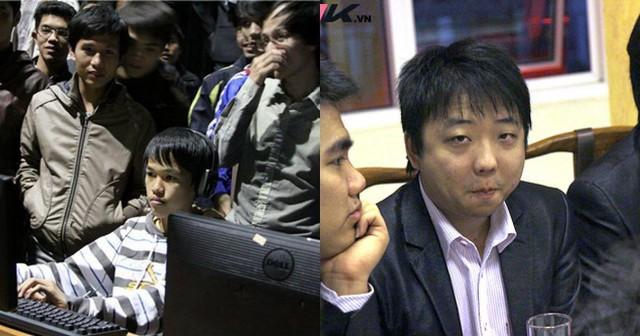 ShenLong (phải) đã không còn giữ được vẻ mặt tự tin đến cao ngạo như 8 năm về trước, đơn giản bởi Chim Sẻ giờ đã lên một tầm cao mới.