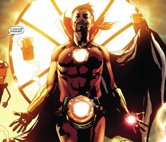 Comics Trivia: Có thể bạn chưa biết, Iron Man đã từng trở thành Phù Thuỷ Tối Thượng mạnh mẽ không kém Dr.Strange - Ảnh 2.