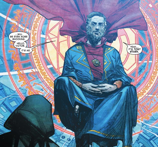 Comics Trivia: Có thể bạn chưa biết, Iron Man đã từng trở thành Phù Thuỷ Tối Thượng mạnh mẽ không kém Dr.Strange - Ảnh 3.