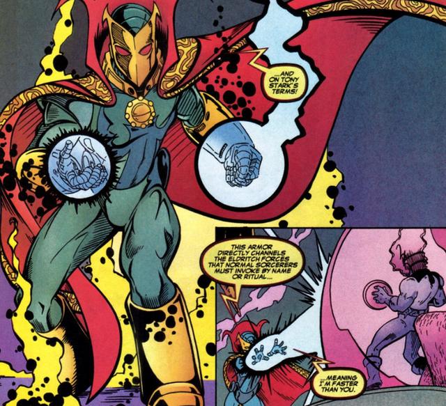 Comics Trivia: Có thể bạn chưa biết, Iron Man đã từng trở thành Phù Thuỷ Tối Thượng mạnh mẽ không kém Dr.Strange - Ảnh 4.