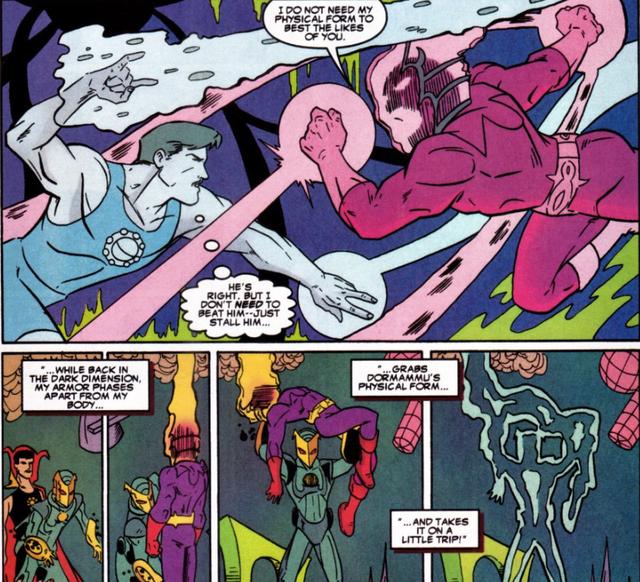 Comics Trivia: Có thể bạn chưa biết, Iron Man đã từng trở thành Phù Thuỷ Tối Thượng mạnh mẽ không kém Dr.Strange - Ảnh 5.
