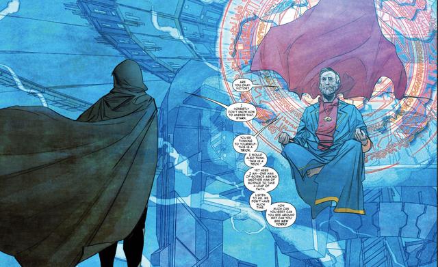 Comics Trivia: Có thể bạn chưa biết, Iron Man đã từng trở thành Phù Thuỷ Tối Thượng mạnh mẽ không kém Dr.Strange - Ảnh 7.