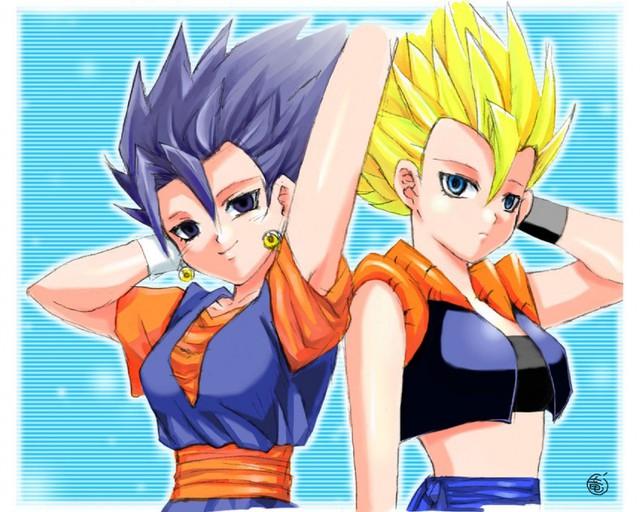 Lác mắt khi thấy các nhân vật trong Dragon Ball hóa thân thành mỹ nhân nóng bỏng - Ảnh 7.