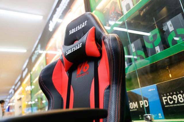 SoleSeat V6 Gaming Chair: Bỏ 6 triệu đồng mua ghế gaming như ngồi trên xe đua - Ảnh 9.