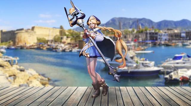 Liên Quân Mobile: Ngắm nhìn vẻ đẹp trong sáng, thánh thiện của cosplayer Annette - Ảnh 1.