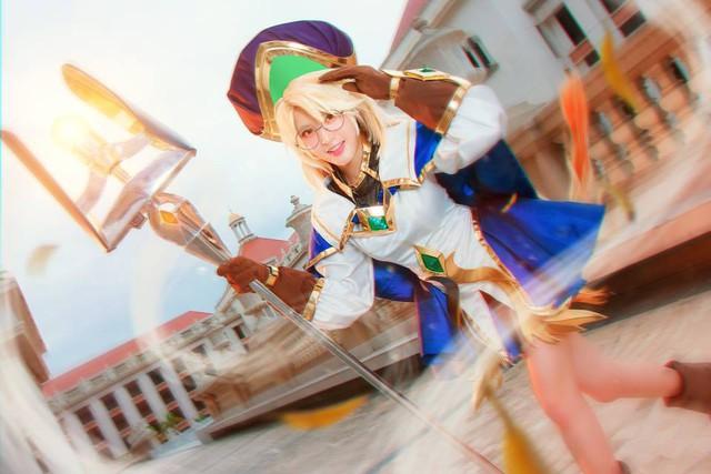 Liên Quân Mobile: Ngắm nhìn vẻ đẹp trong sáng, thánh thiện của cosplayer Annette - Ảnh 8.