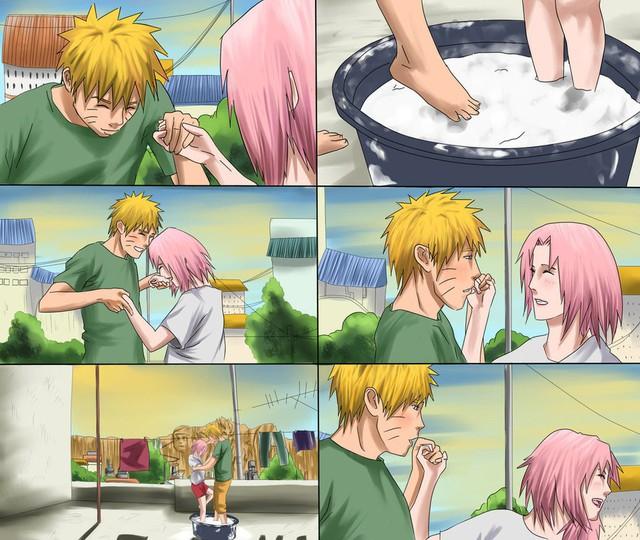 Vui là chính: Nếu Naruto và Sakura về chung một nhà thì con cái họ trông sẽ thế nào? - Ảnh 15.