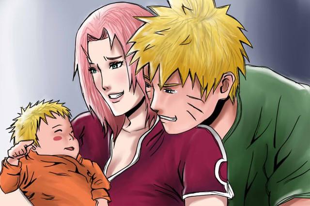 Vui là chính: Nếu Naruto và Sakura về chung một nhà thì con cái họ trông sẽ thế nào? - Ảnh 14.