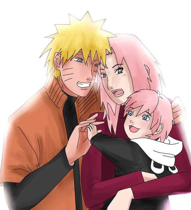 Vui là chính: Nếu Naruto và Sakura về chung một nhà thì con cái họ trông sẽ thế nào? - Ảnh 12.