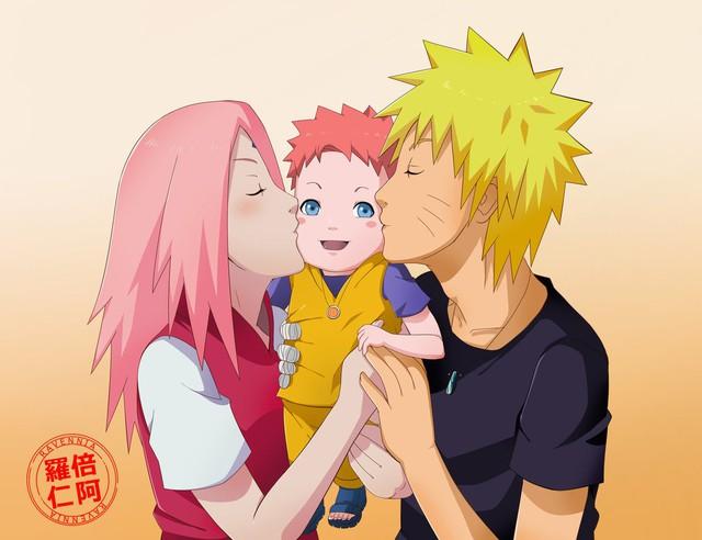 Vui là chính: Nếu Naruto và Sakura về chung một nhà thì con cái họ trông sẽ thế nào? - Ảnh 10.