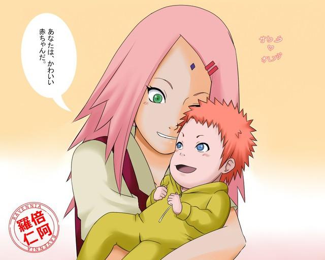 Vui là chính: Nếu Naruto và Sakura về chung một nhà thì con cái họ trông sẽ thế nào? - Ảnh 8.