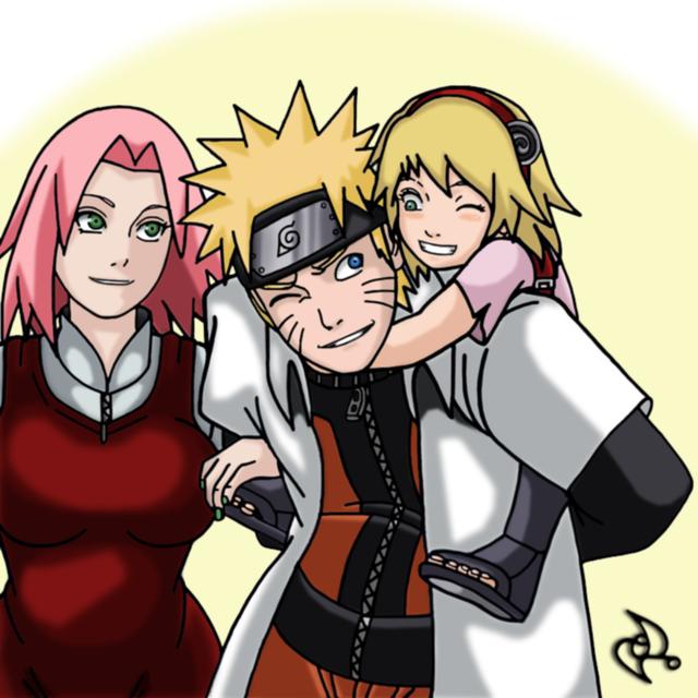 Vui là chính: Nếu Naruto và Sakura về chung một nhà thì con cái họ trông sẽ thế nào? - Ảnh 3.